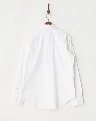 white  Rockmount レギュラーフィットシャツ見る
