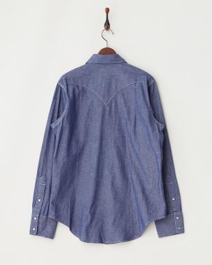 lt/blue  Rockmount レギュラーフィットシャツ見る