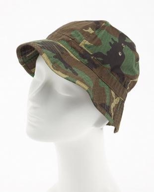 olive カモフラージュ  INFIELDER DESIGN 帽子見る