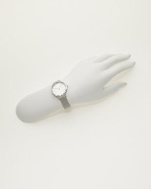 シルバー 腕時計 Ancher|WOMEN見る
