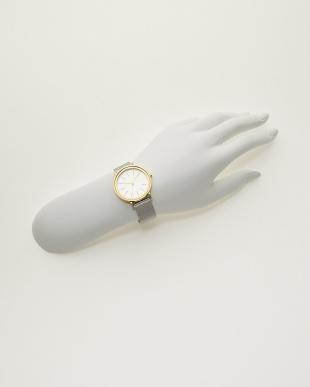 ゴールド×シルバー 腕時計 HALD|WOMEN見る