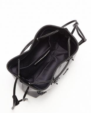 ブラック ビジューMIX装飾バッグ見る