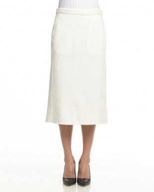 ベージュ  リバーラッセルタイトスカート見る