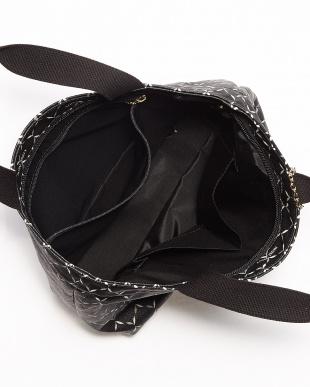 ブラック  PVC ハンドバッグ見る