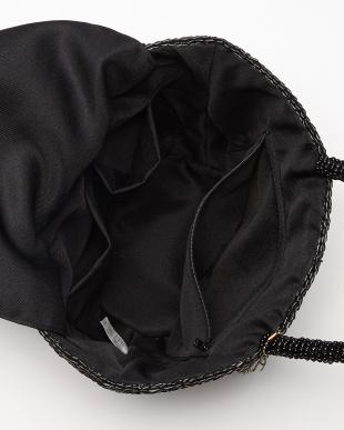 Black  ビーズハンドル バイカラーバケツ型バッグ見る