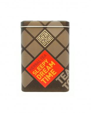 TEA TOTAL HERBAL TEA SLEEPY DREAM TIME(缶入り50g)見る