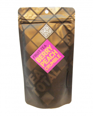 TEA TOTAL FRUIT TEA BERRY PEACH CRUMBLE(袋入り100g)見る
