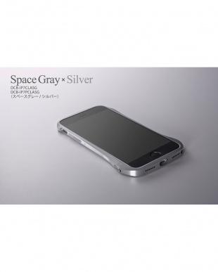 スペースグレー iPhone 8 / 7用 アルミバンパー Cleave見る