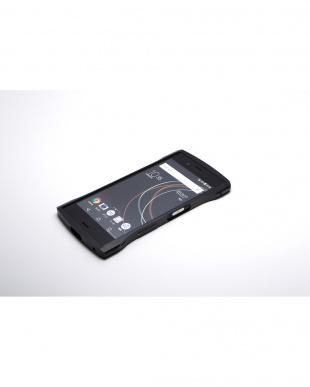 ブラック  Xperia XZs / XZ用 アルミバンパー CLEAVE見る