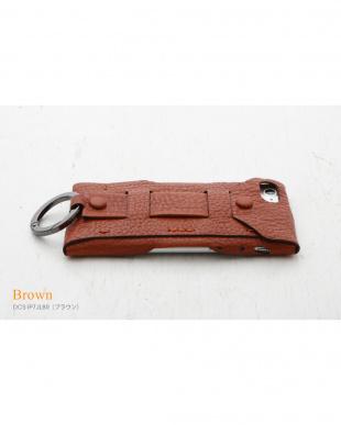 ブラウン  Baseball Gloves Leather Case for iPhone 8 / 7見る