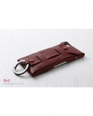 ワインレッド  Baseball Gloves Leather Case for iPhone 8 / 7見る