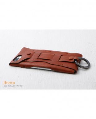 ブラウン  Baseball Gloves Leather Case for iPhone 8 Plus / 7 Plus見る