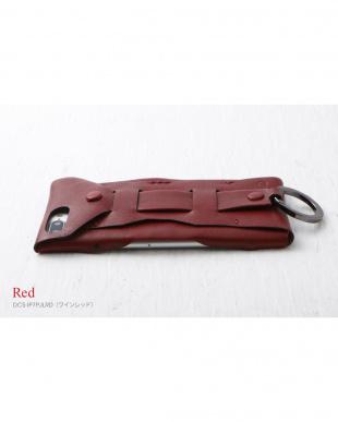 ワインレッド  Baseball Gloves Leather Case for iPhone 8 Plus / 7 Plus見る