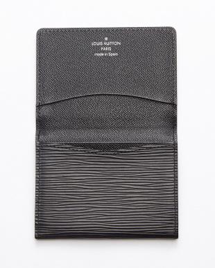 ブラック aaa-カルトドゥヴィジット カードケース見る