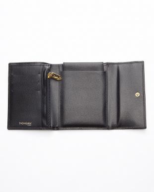 ブラック aaa-Yロゴ財布見る