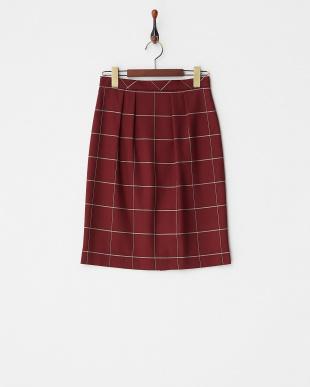 チェックボックススカート見る