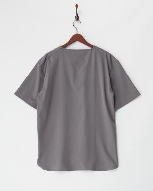 グレー  TRドロップショルダーTシャツ見る