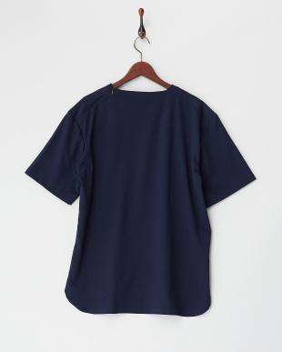 ネイビー  TRドロップショルダーTシャツ見る