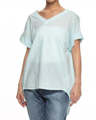 ホワイト  TEN/Cローン Vアキ2ブソデシャツ見る