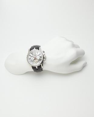 シルバーホワイト  機械式腕時計 033|MEN見る