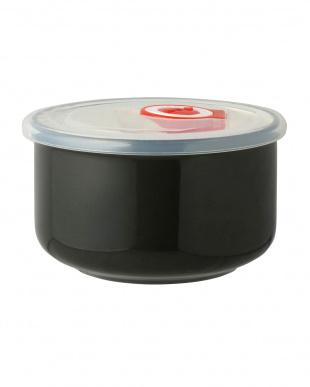 ブラック  高密閉レンジパック小鉢 2個セット見る