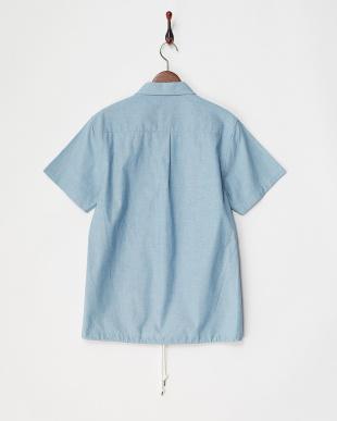 SAX シャンブレーパナマシャツ見る