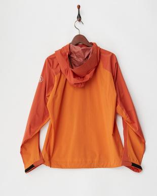 オレンジ minimalist ジャケット|MEN見る