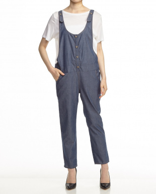 BUL  DENIM SALOPETTE見る
