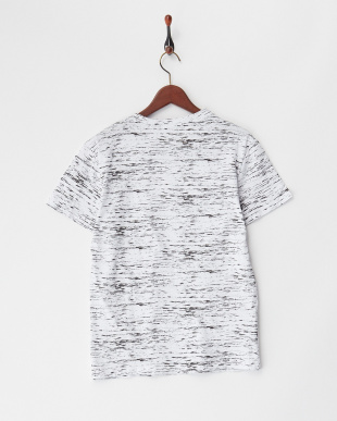 ホワイト  クラックTシャツ見る