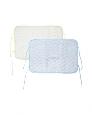 ブルー/グリーン  涼綿クール枕パッド 2色組見る