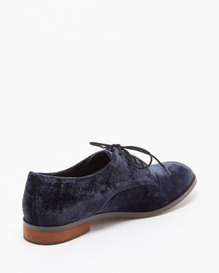 ネイビー Vlvt Oxfordshoes見る