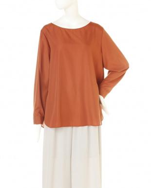 テラコッタ ◆大きいサイズ◆バックシャンシャツ 22 OCTOBRE L見る