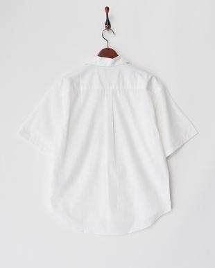 OFF  フィルロワ綿麻ステンカラーシャツ WH見る