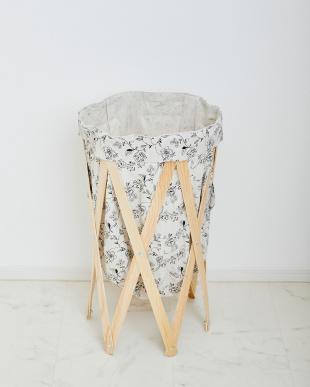 ボタニカル×ナチュラル  ナチュラルな洗濯かご Laundry Hamper(ランドリーハンパー)見る