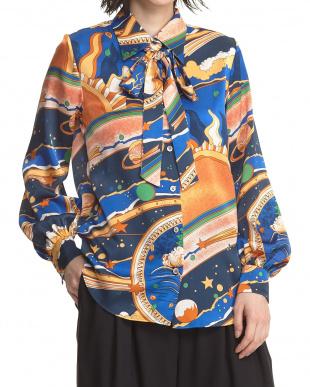 マルチ ユニバースプリントシャツ見る
