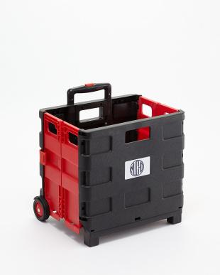 Black+Red 折り畳みキャリーカート見る