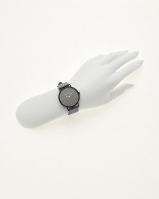 ブルー/ブラック  腕時計 Verdiwatch  Light見る