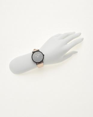 シャンパンゴールド/ブラック  腕時計 Verdiwatch  Light見る