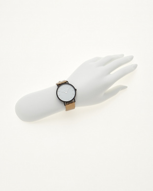 ゴールド/ホワイト  腕時計 Verdiwatch  Light見る