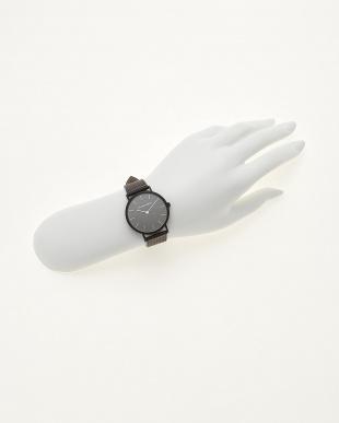 ブラック/ブラック  腕時計 Verdiwatch  Perfo見る
