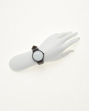 ブラック/ホワイト  腕時計 Verdiwatch  Perfo見る