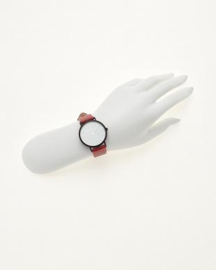 レッド/ホワイト  腕時計 Verdiwatch  Perfo見る