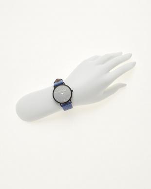 ブルー/ブラック  腕時計 Verdiwatch  Perfo見る