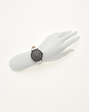 ホワイト/ブラック  腕時計 Verdiwatch  Perfo見る