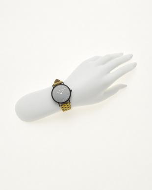 イエロー/ブラック  腕時計 Verdiwatch  Micro hexagon見る
