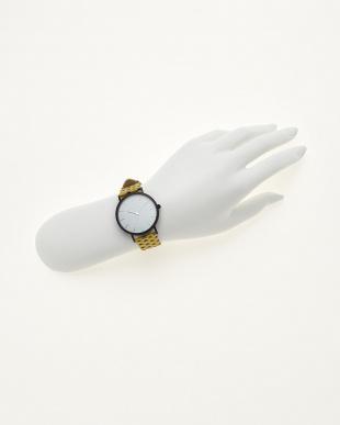 イエロー/ホワイト  腕時計 Verdiwatch  Micro hexagon見る
