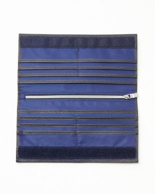 ブルー STRIPPATO-L 02  長財布見る