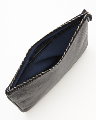 BLACK WAYLAND LARGE POUCH クラッチバッグ見る