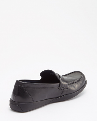 BLACK/BLACK  SHEPARD PENNY LOAFER見る