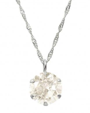 天然ダイヤモンド Ptネックレス0.3ct + Pt900ピアス計0.1ct(計2点セット)見る